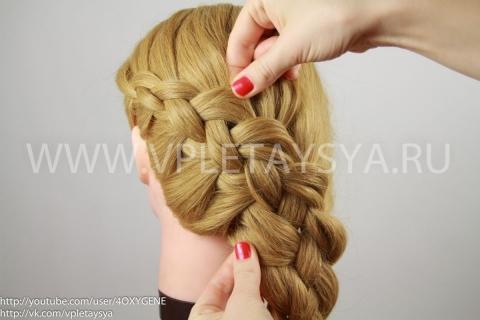 Правильное плетение кос