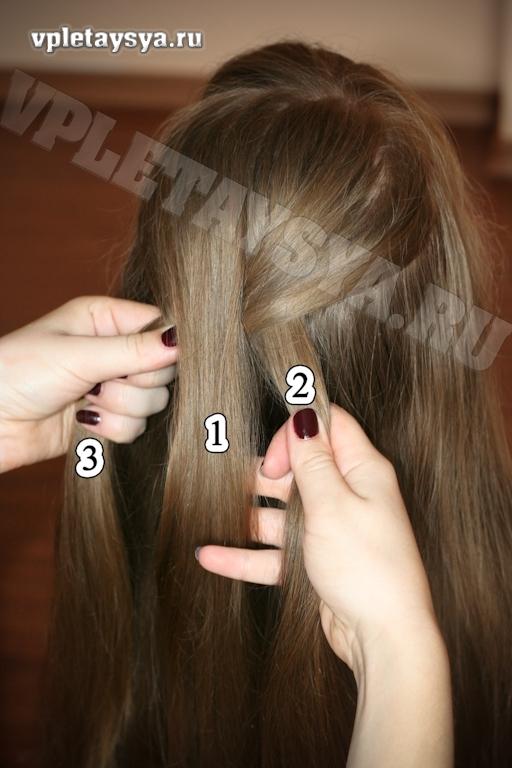 Плетение кос по порядку